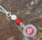 Ohio State Bling Necklace