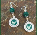 USF Bling Earrings