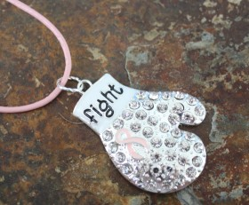 Knock Out Cancer Pendant
