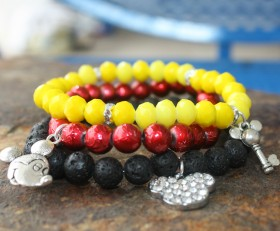 Mickey Lovers Bracelet Stack