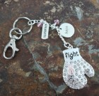 Fight Breast Cancer Key Chain