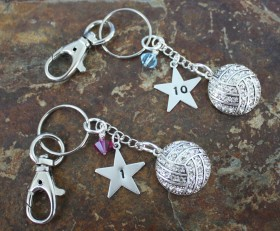 We've Got Your Volleyball Number Key Chain