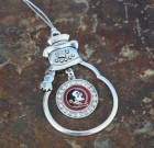 Florida State Seminoles Snowman Ornament