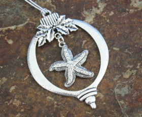 Starfish Sparkle Ornament