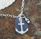 Anchor And Sea Glass Sparkle