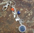 Florida Gators Bling Keychain