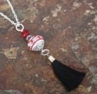 Black Tassel Sparkle