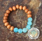 Water And Sand Beaded Bracelet