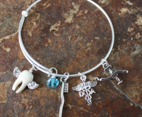 Tooth Fairy Adjustable Bangle