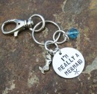 I'm Really A Mermaid Keychain
