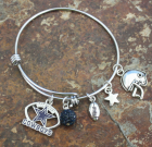 Dallas Cowboys Adjustable Bangle
