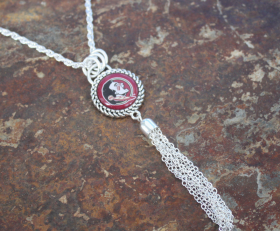 FSU Seminoles Tassel Necklace