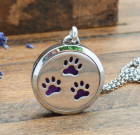 Paw-Some Essential Oil Diffuser Pendant