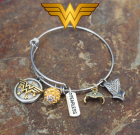 Wonder Woman Adjustable Bangle