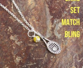 Tennis Love Necklace