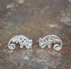 Gecko Stud Earrings