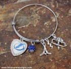 Tampa Bay Lightning Love Adjustable Bangle