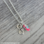 run infinity shoe necklace