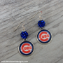 Cub bling earrings