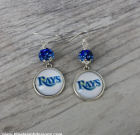 Tampa Rays Bling Earrings