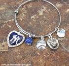 Yankee Heart Adjustable Bangle