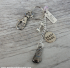 Kick Boxing Lover Key Chain