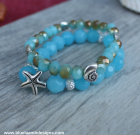 Jewels of The Sea Bracelet Stack