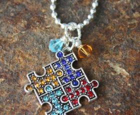 Autism Support Necklace